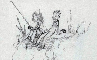 Fishing Sketch